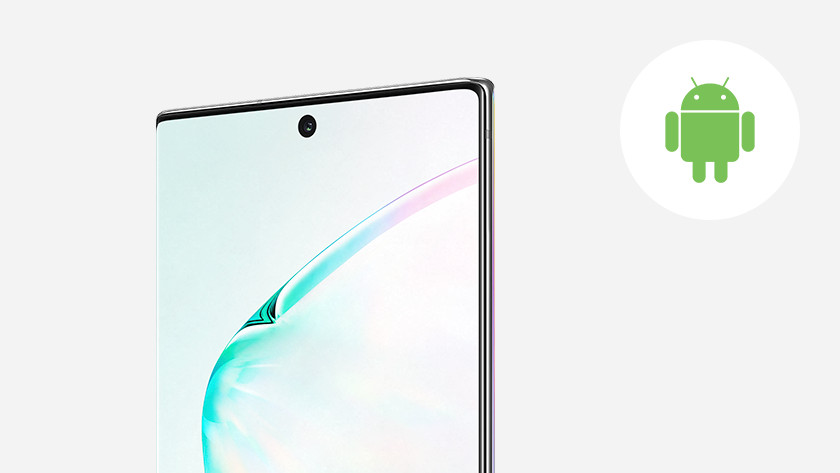 Samsung Galaxy Note 10 besturingssysteem