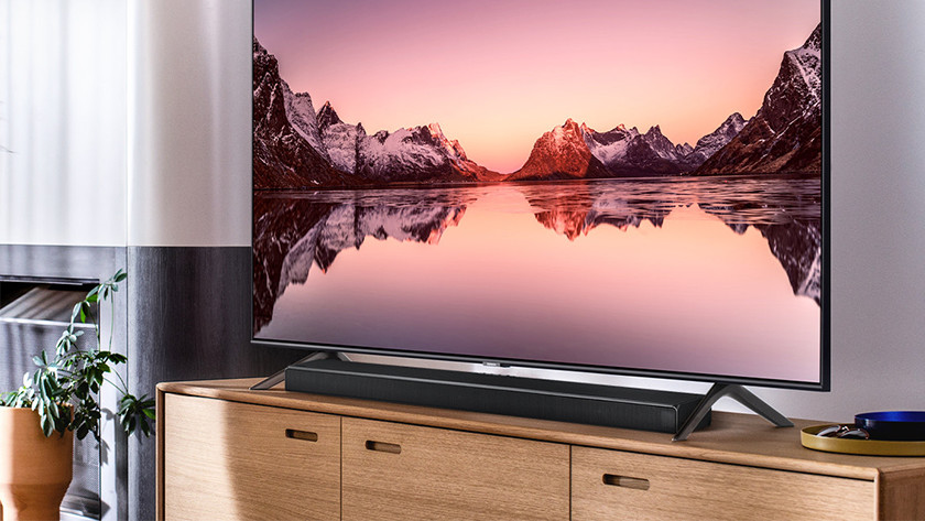 De Q60T verbetert het geluid van je tv