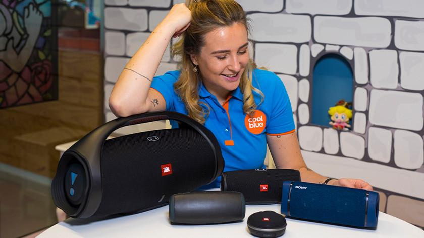 Bluetooth speaker kiezen