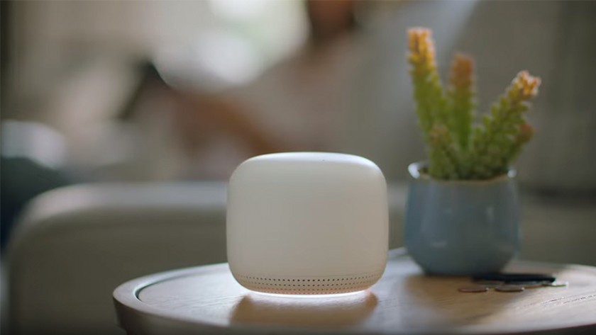 Google Nest Wifi spraakassistent