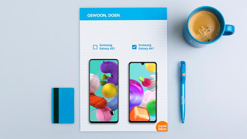 Samsung A41 formaat