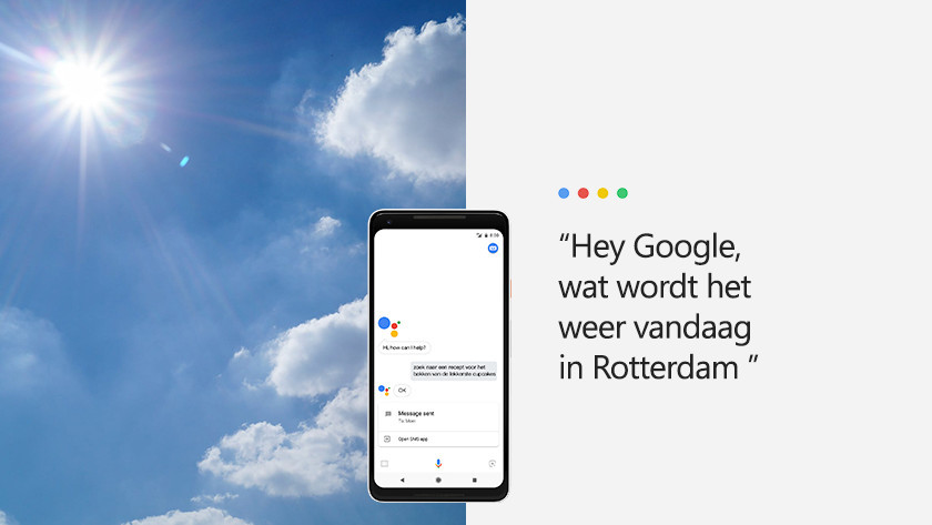 Receiving news with Google Assistant