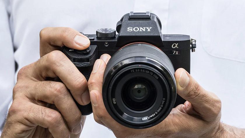 Scherpe beelden Sony A7 II