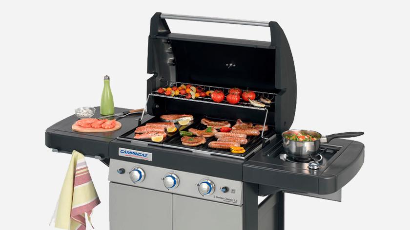Barbecue met vlees