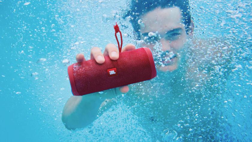Speaker underwater