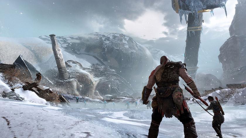 God of War op de PS4 Pro