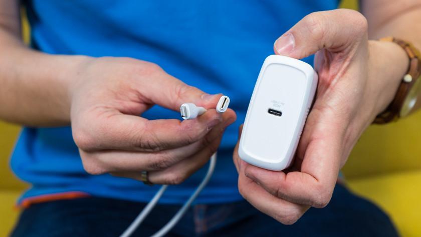 juiste oplaadkabel voor iPhone snel opladen