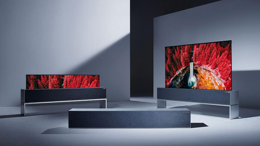 LG oprolbare tv aangekondigd