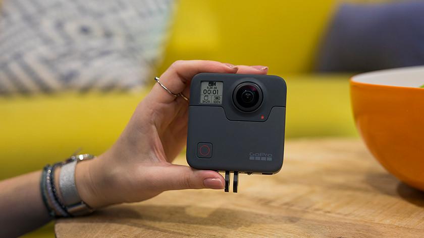 Opnamemodi GoPro Fusion
