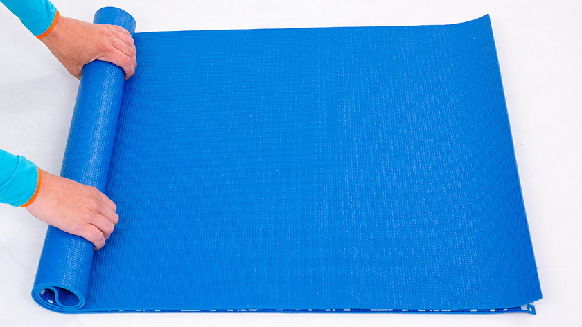 Roll up yoga mat
