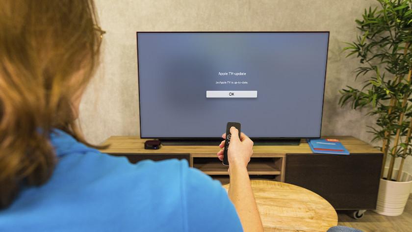 Nieuwe updates worden nu automatisch geïnstalleerd, zodat Apple TV altijd up-to-date is
