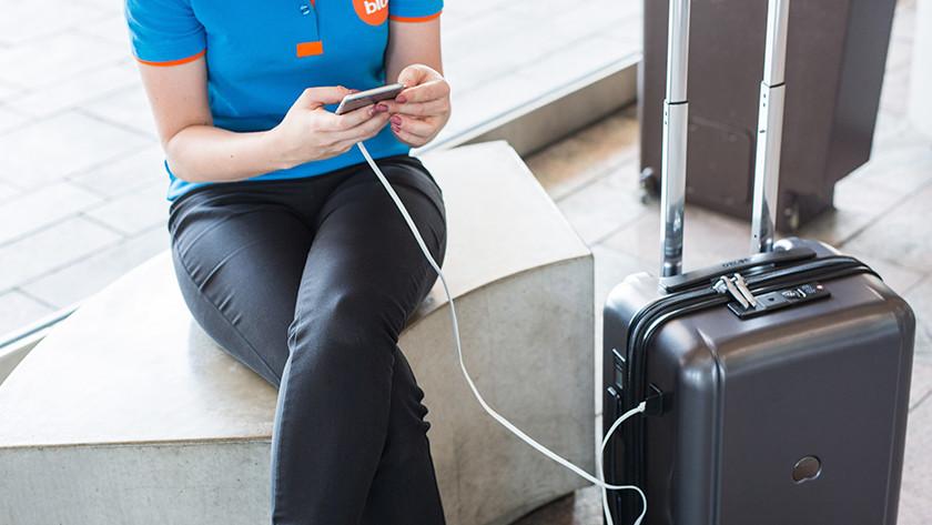 Batterij opladen koffer