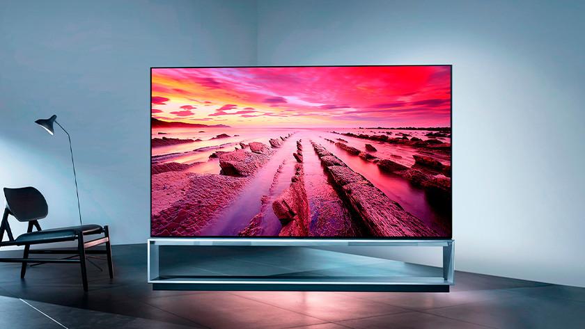 8K OLED televisie