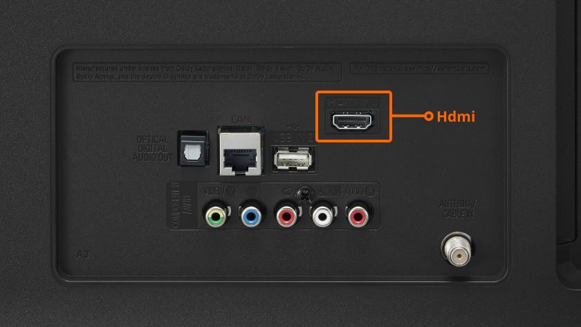 HDMI kabel van je mediabox