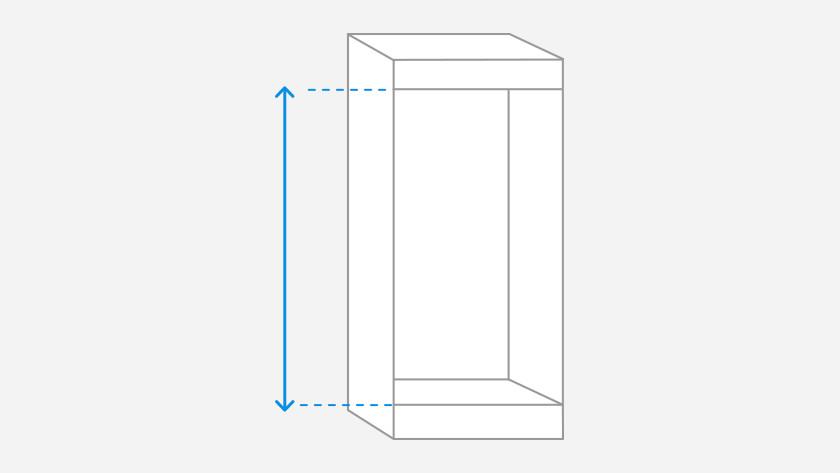 measure niche height
