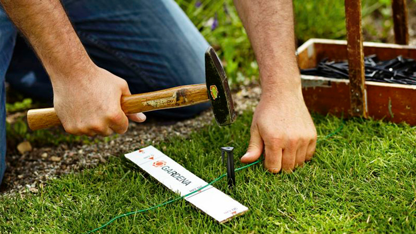 Demarcating your lawn