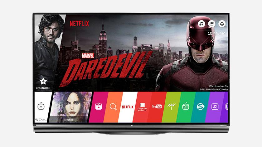 OLED TV user-friendliness