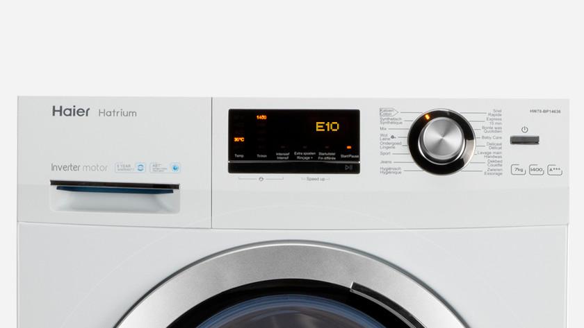 Haier wasmachine foutcode