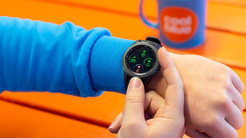 Samsung Galaxy Watch draairing gebruik