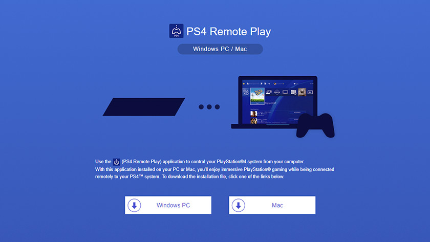 Download de remote play client