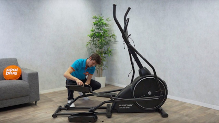 Set up fitness machine