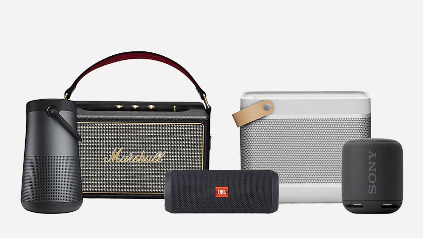 Advies over bluetooth speakers - Coolblue - alles voor een glimlach