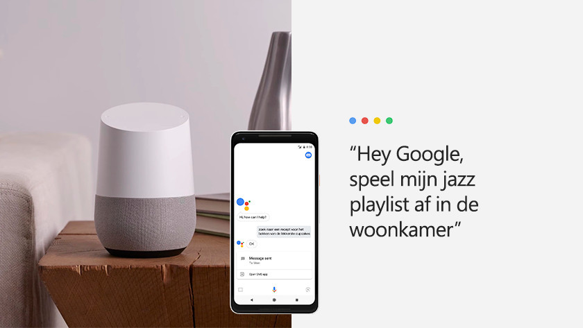 Playing music with Google Assistant