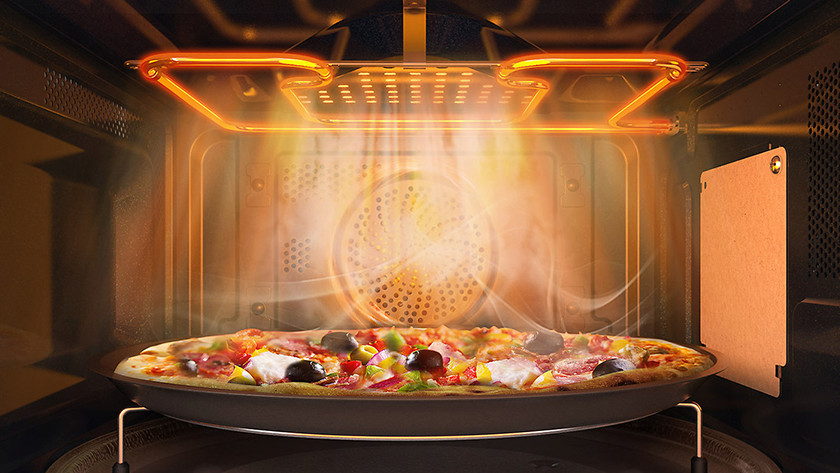 dish in combi microwave