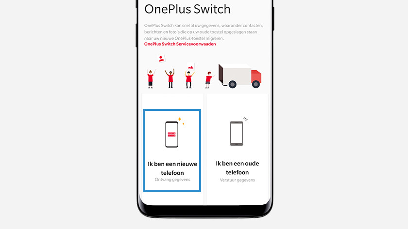 OnePlus Switch new phone
