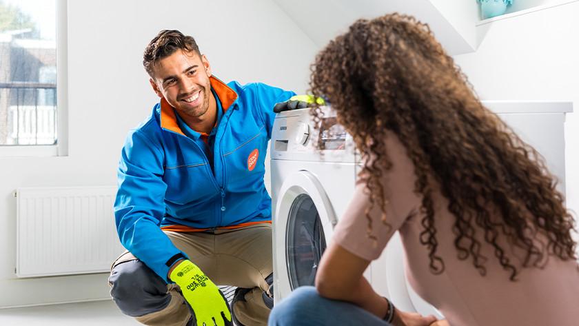 Wasmachine aansluitservices