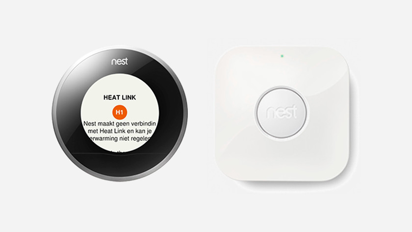 The Nest Thermostat doesn't connect to the Heat Link