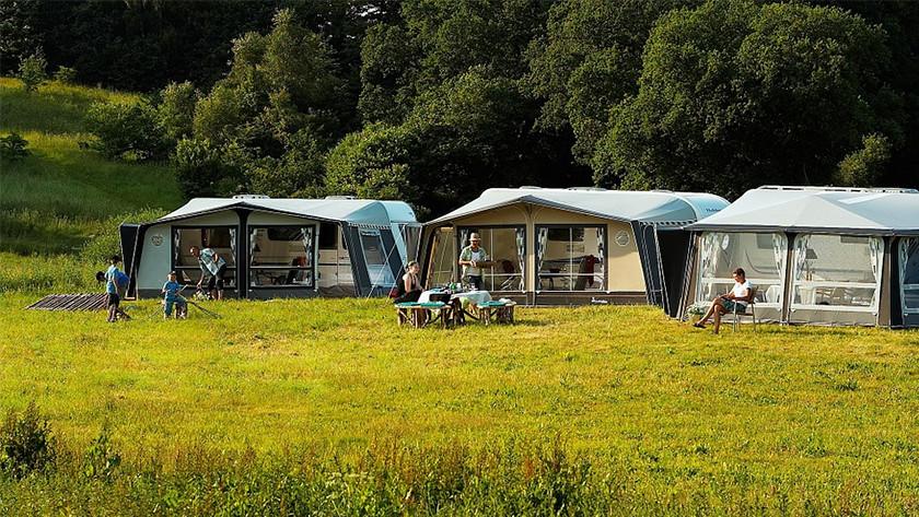Kachel kamperen