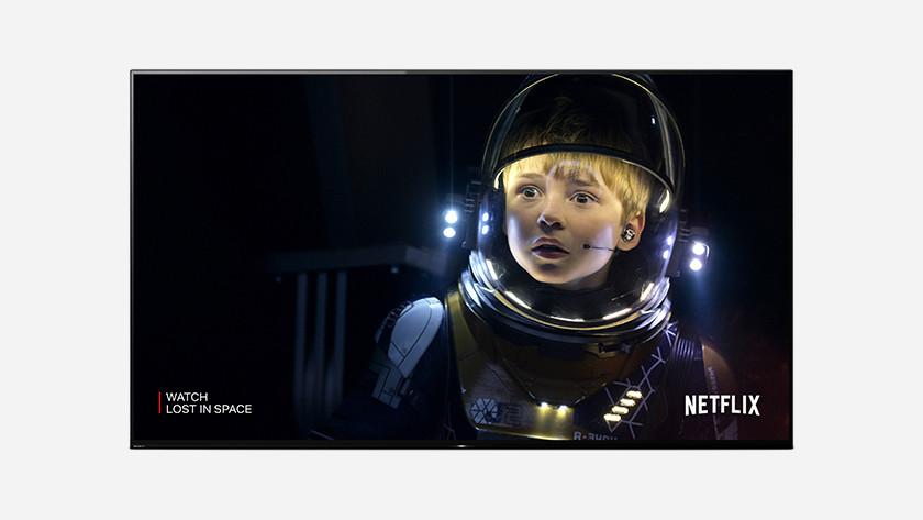 Sony gekalibreerd voor Netflix
