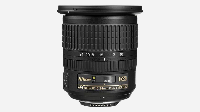Afkortingen Nikon lens