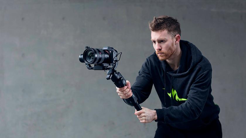 hoe zwaar mag je camera zijn