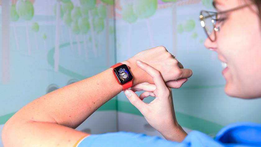 Apple Watch Series 6 helder scherm