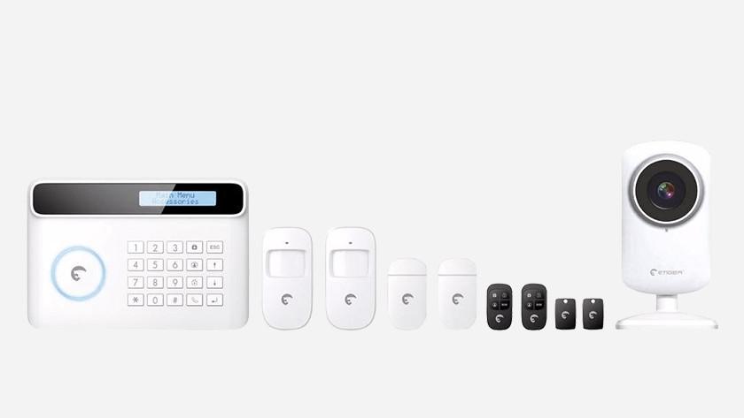 Alarmsysteem met een vaste telefoonlijn