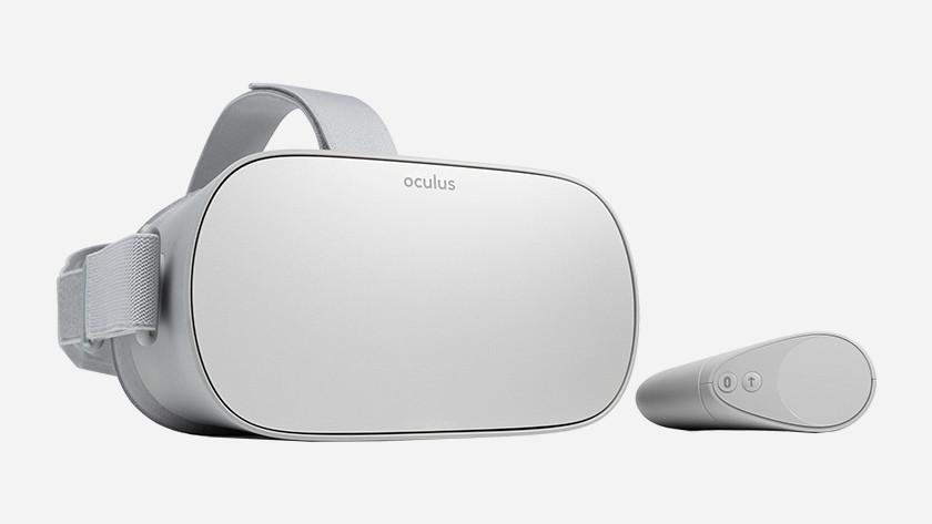 Oculus Go display