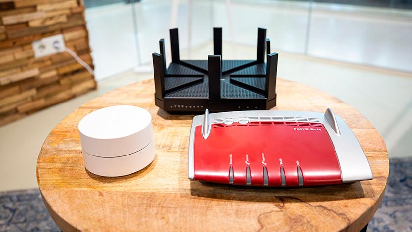 Routers met 2 of 3 snelheden