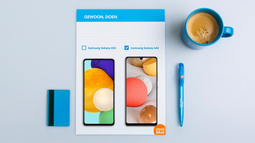 Samsung A42 or A52 screen