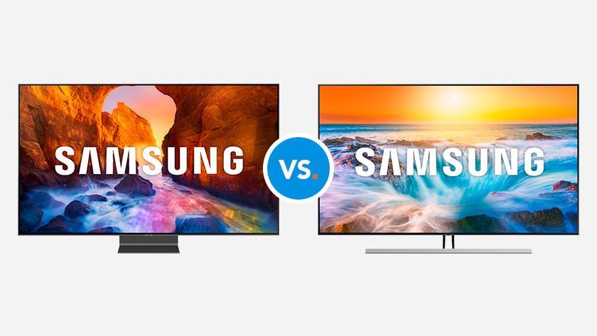 Compare Samsung televisions