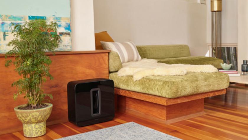 positionering speaker
