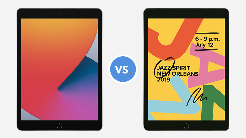 iPad (2020) en iPad (2019)