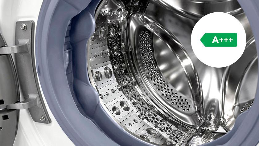 Energy-efficient washing machine drum