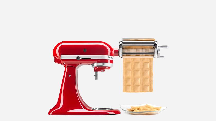 Kitchenaid met pastaroller
