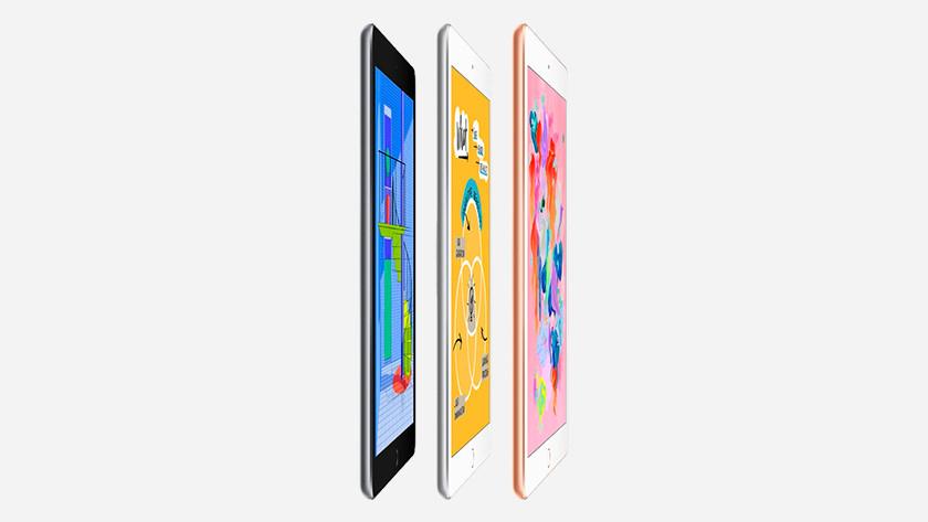 iPad 2018 uitvoeringen