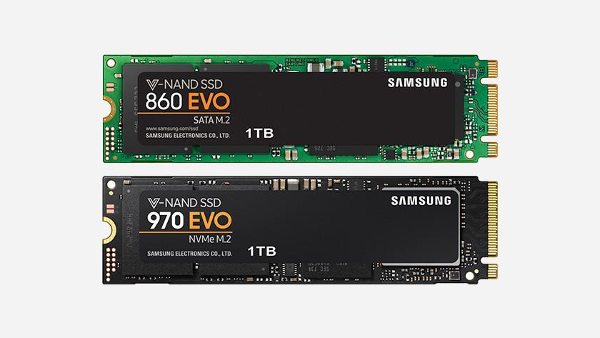 SSD B key M key