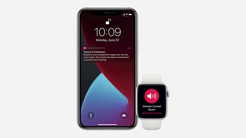 watchOS 7 hearing protection
