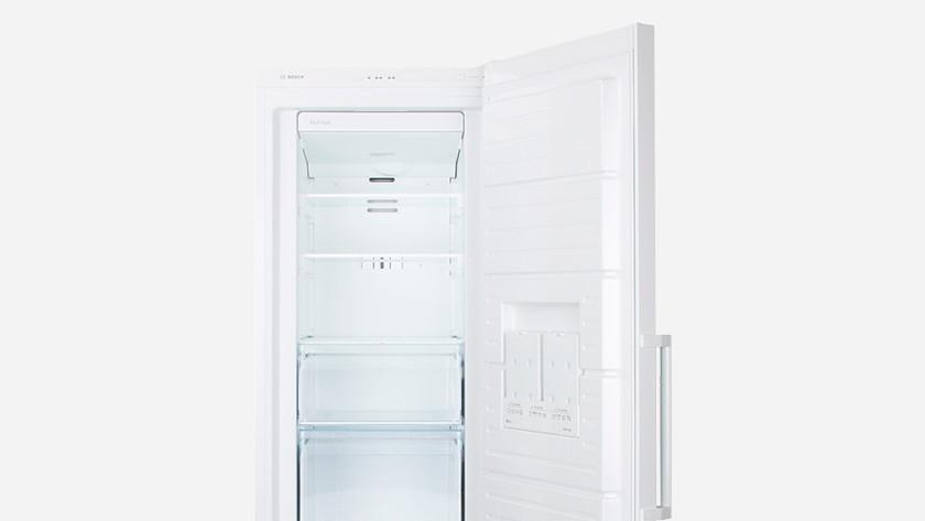 Emptying the freezer