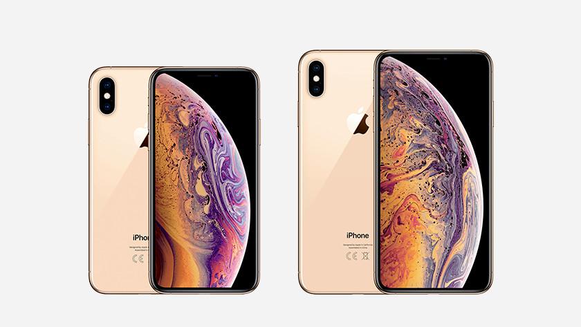 iPhone Xs en Xs Max Goud